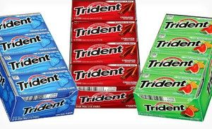8 99 For 12 Packs Of Trident Gum 15 60 List Price Five