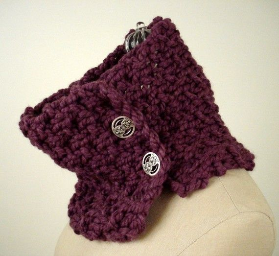 The Granite And Fig Knitting Pattern Is A Super Chunky And Super