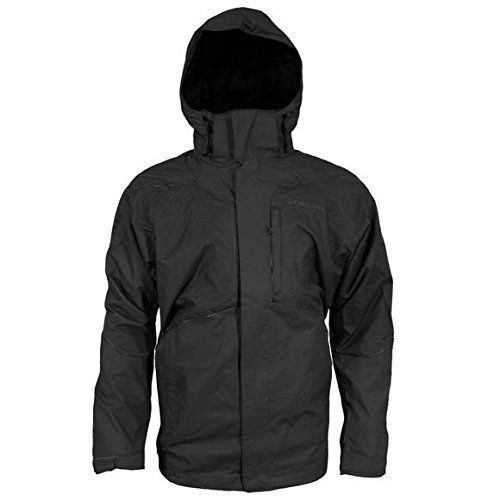 Columbia Men`s Evergreen Interchange Jacket (BLACK, XL) Columbia ++ You can get best price to buy this with big discount just for you.++