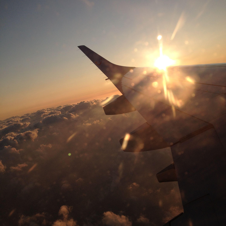 Ik ga heel graag op reis met het vliegtuig