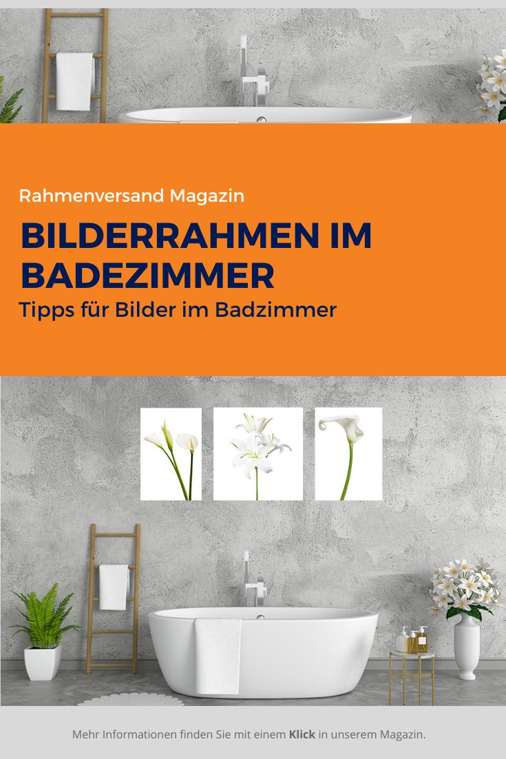 Bilderrahmen Im Badezimmer Aufhangen In 2020 Bilderrahmen Badezimmer Beleuchteter Bilderrahmen