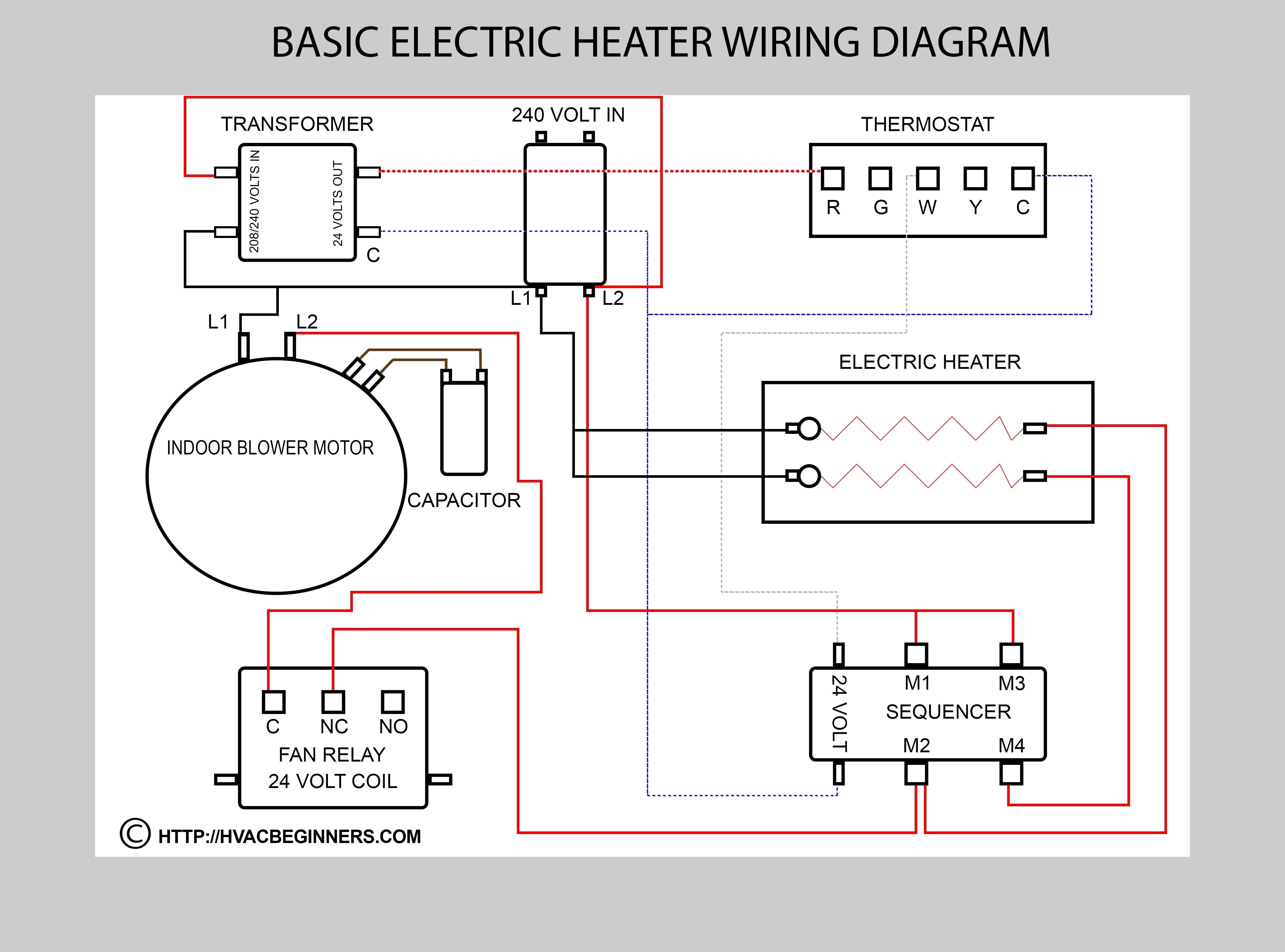 Central Air Conditioner Wiring Diagram Unique in 2020