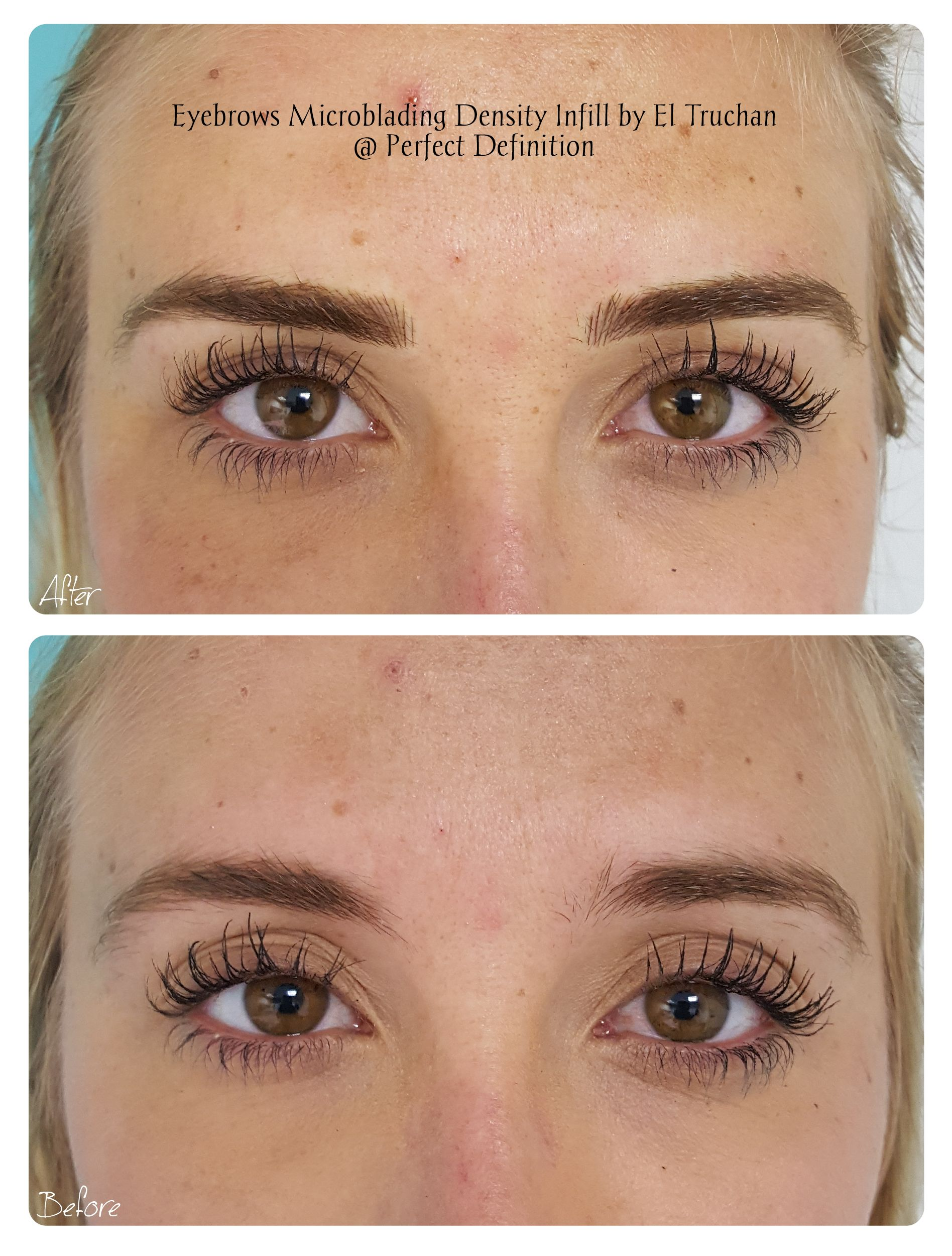 Eyebrows Microblading Density Infill By El Truchan Perfect