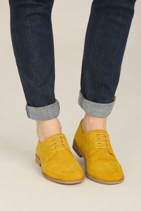 4a565ef916b Seasalt - Blackfish Brogue | Shoes shoes shoes in 2019 | Yellow shoes  outfit, Women's leather brogues, Shoes