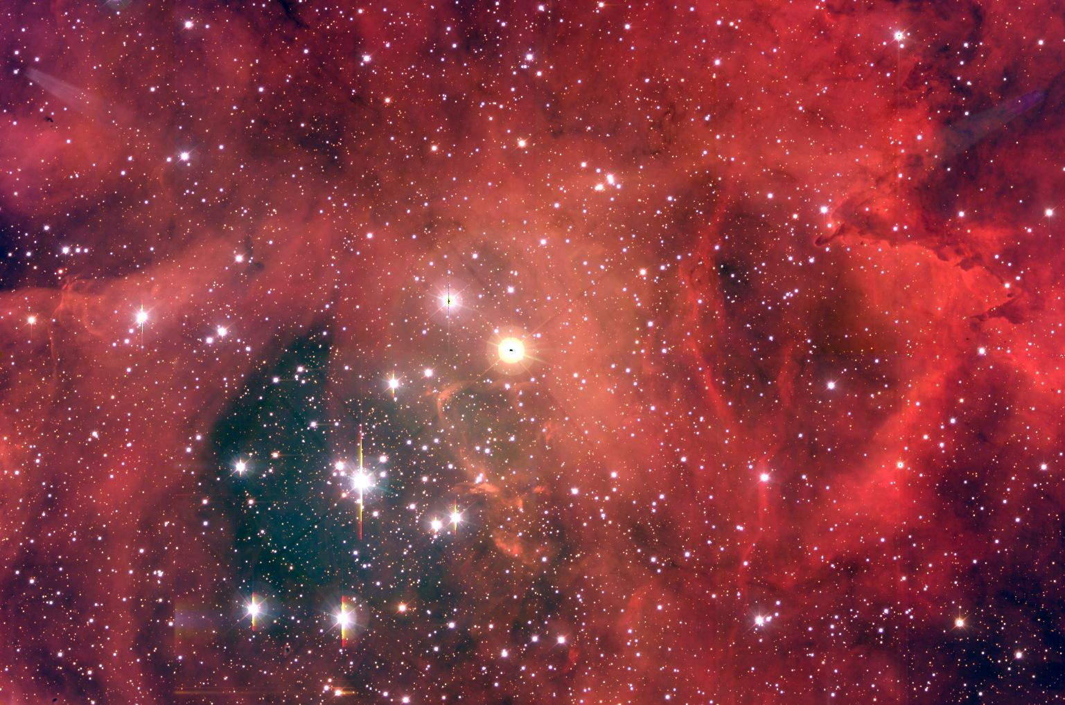 NGC 2244 A Star Cluster in the Rosette Nebula (Credit