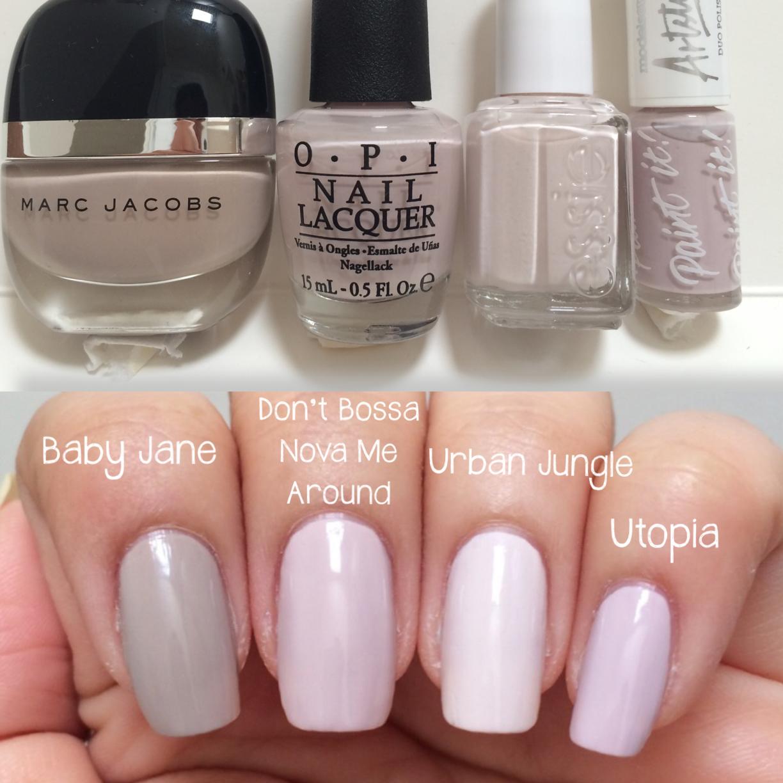 Essie Urban Jungle comparisons ; 8/8/14 | Makeup | Pinterest | Essie ...