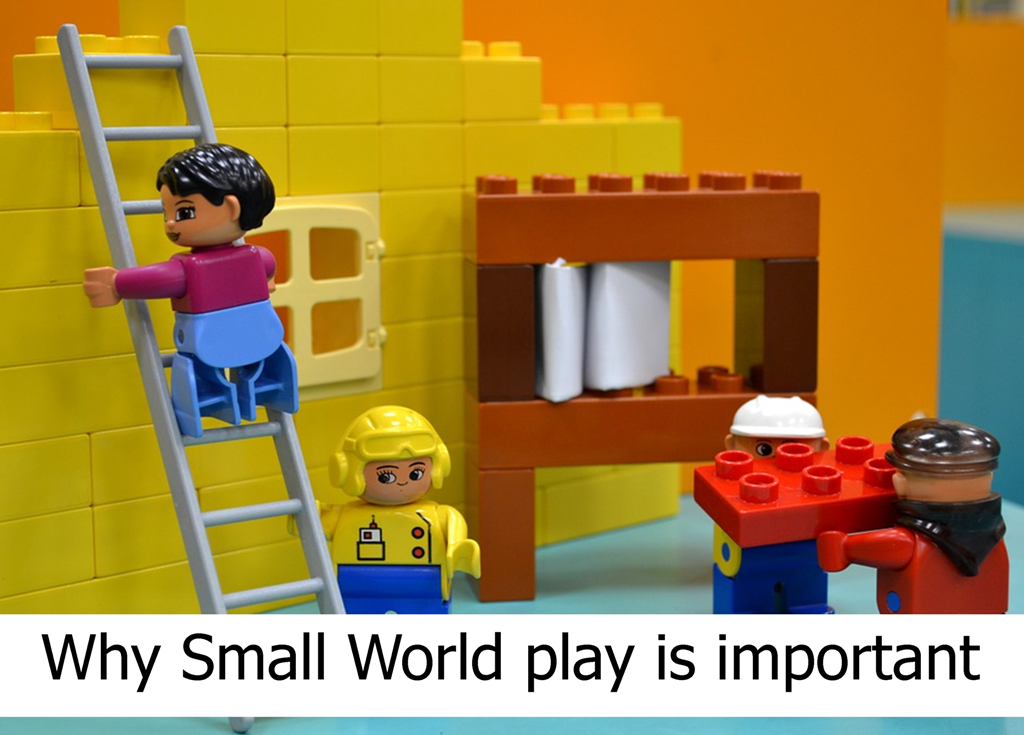 Read more to find out why Small World play is important.