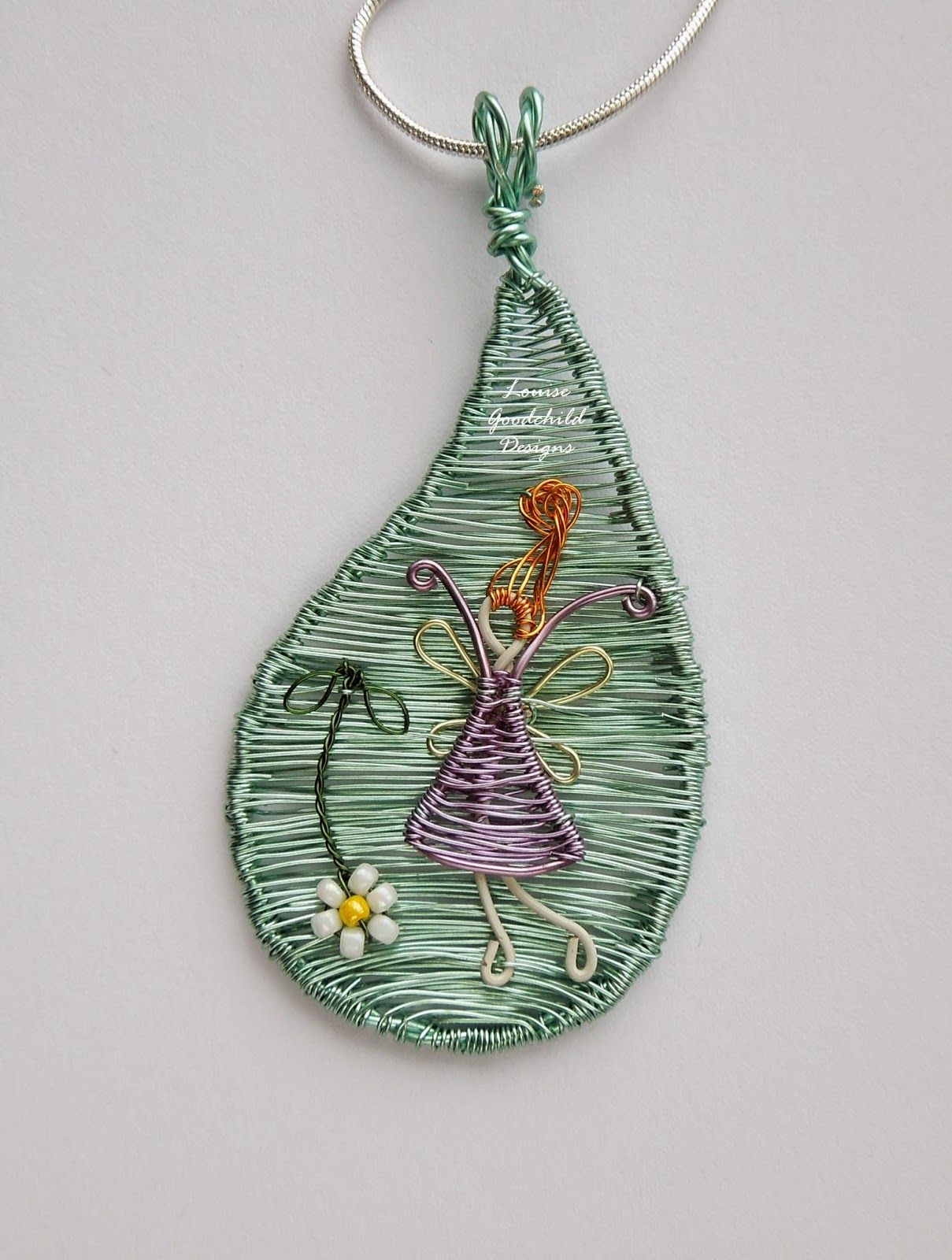 Louise Goodchild: Why Wire? | wire & metal jewellery | Pinterest ...