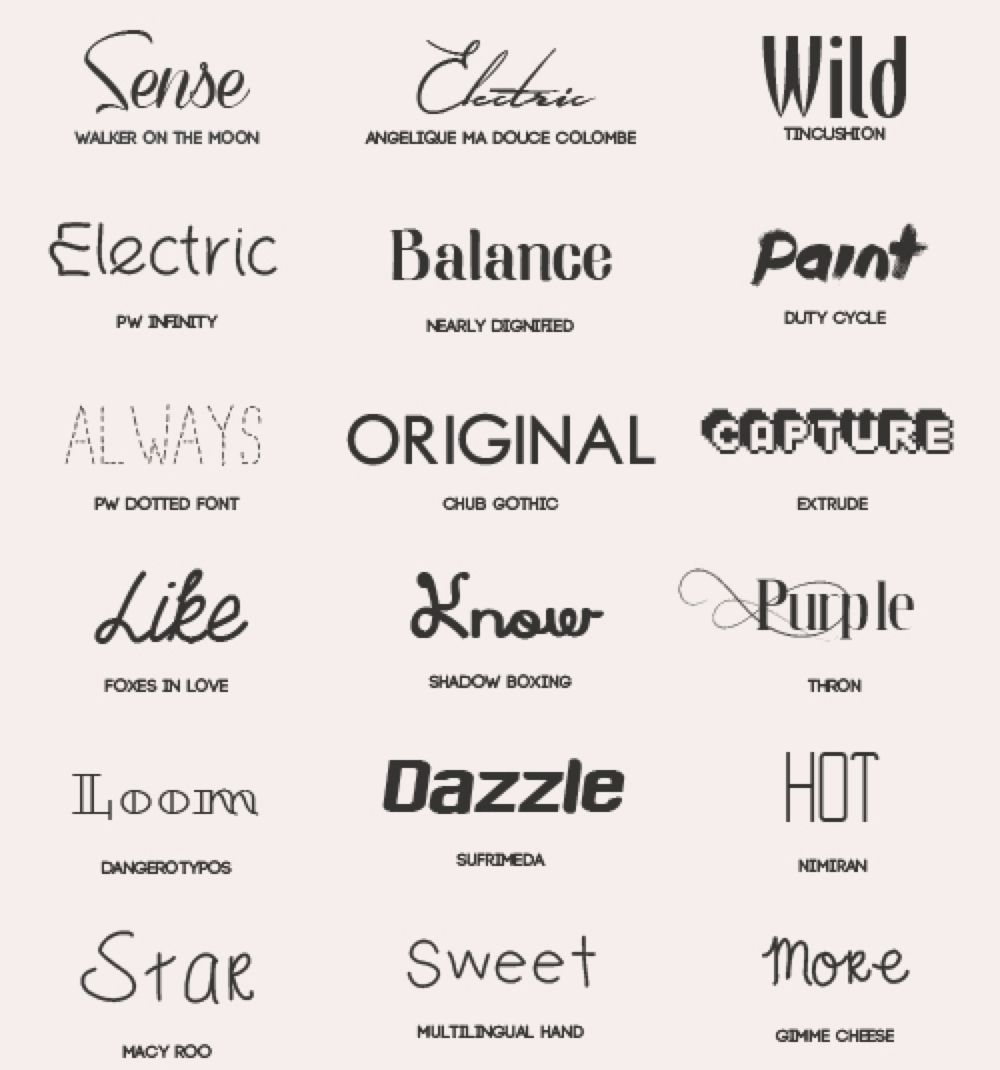 Download Font Pack #3 by shiny-a on @DeviantArt | Font packs