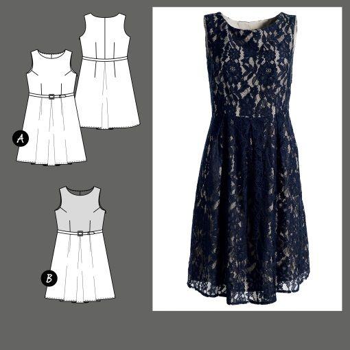 822c4b8ddaf7 23082 Klänning - STOFF & STIL | Sy Kläder | Pinterest | Sewing och DIY