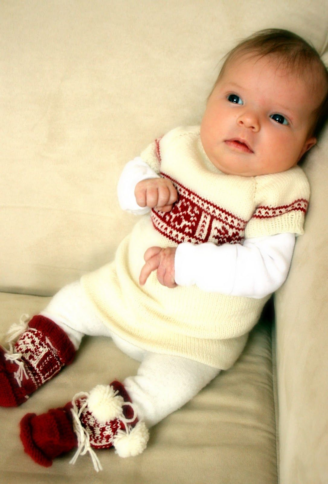 French Press Knits The Best Christmas Outfit Ever Newborn Christmas Outfit Baby Girl Christmas Outfit Newborn Christmas