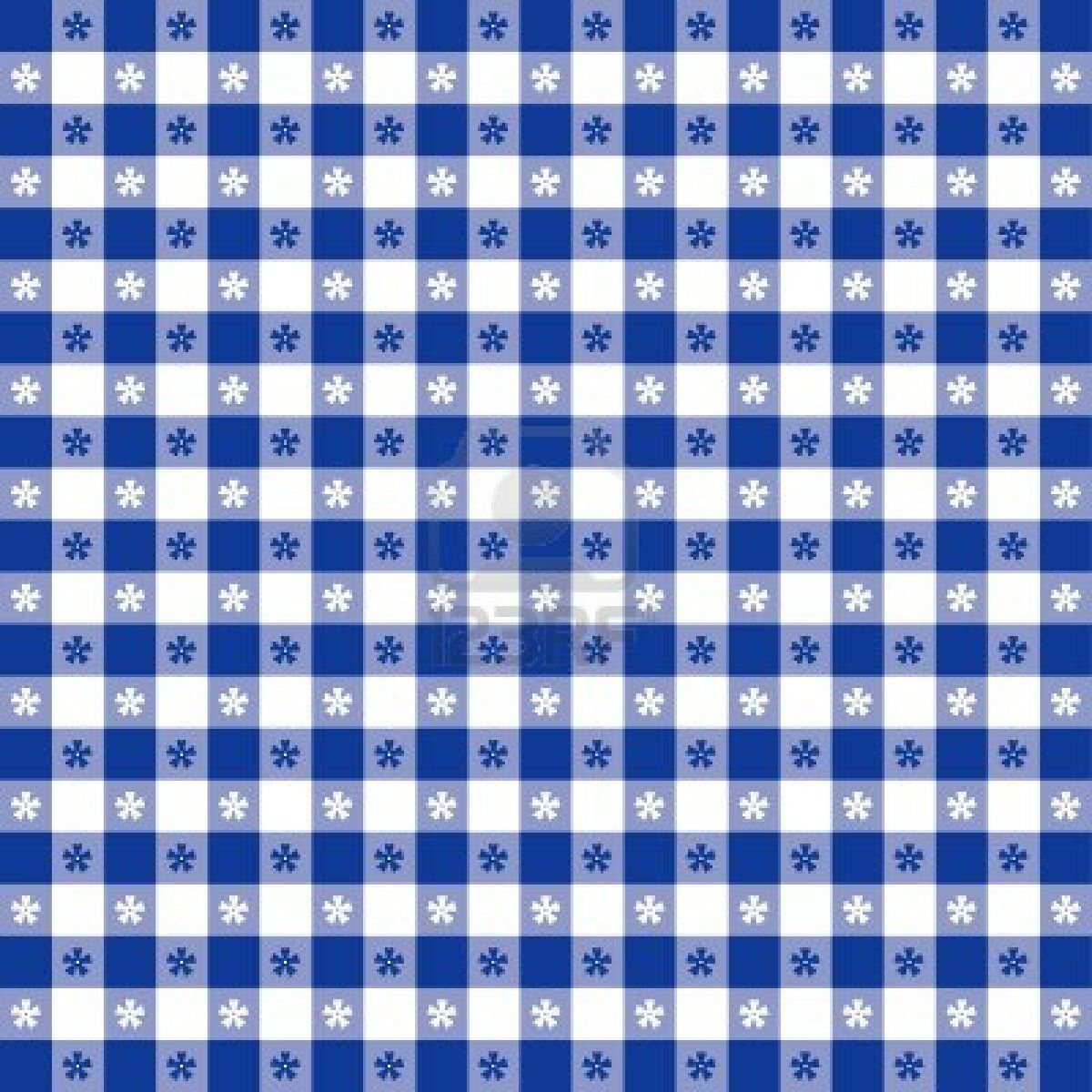 Blue tablecloth background - 13043247 Seamless Tablecloth Pattern Blue Gingham Check Eps8