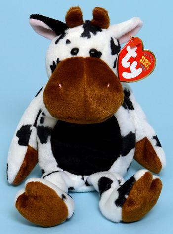 Tipsy - cow - Ty Beanie Babies  5facfc1e6df