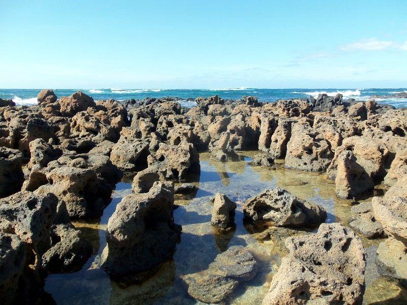 El Cotillo Fuerteventura, sube la marea Pintoresco