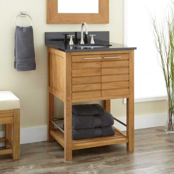24 Salinas Teak Vanity Bathroom Vanities Bathroom Teak Bathroom Vanity 24 Inch Bathroom Vanity Teak Vanity