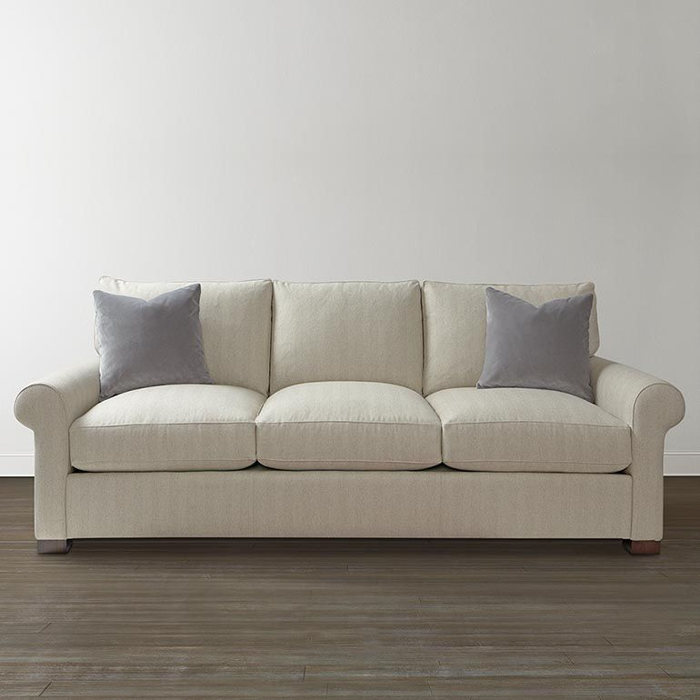 Bassett Furniture   American Casual Scarborough Sofa