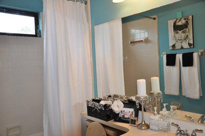 Breakfast At Tiffanys Inspired Bathroom For Under 100 I Had A