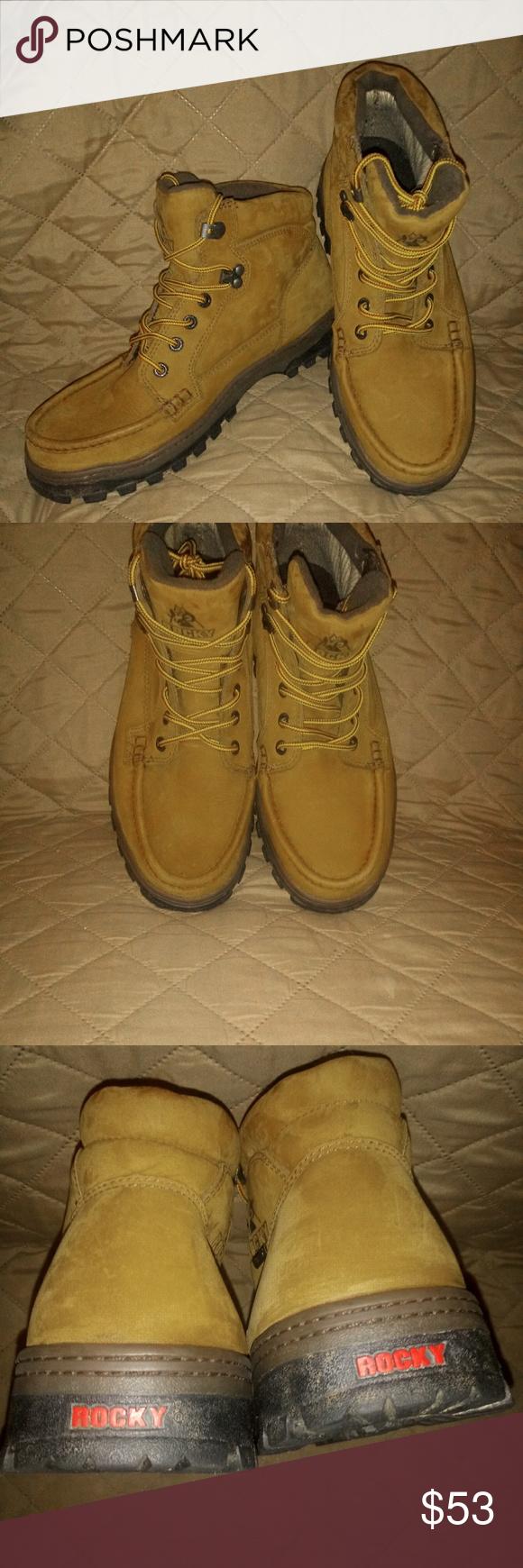 b01d76c2401 Rocky Outback Gore-Tex Waterproof Hiker Boots NWOT Men's size 8 Wide ...