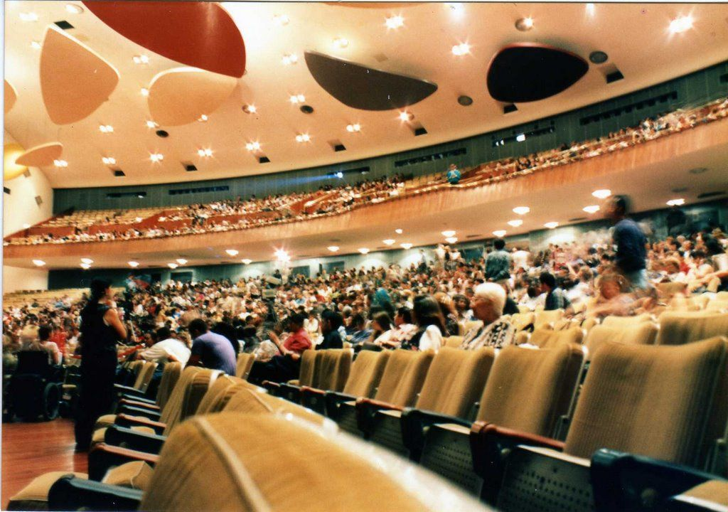 Aula Magna de La Universidad Central de Venezuela