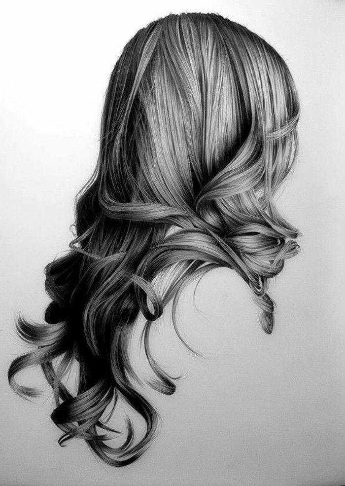 frisur zeichnen fresh haare zeichnen bleistift - modische