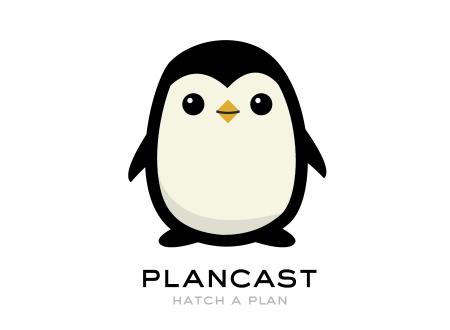 Plancast Penguin Development Process Pet Logo Design Mascot Design Logo Design Process