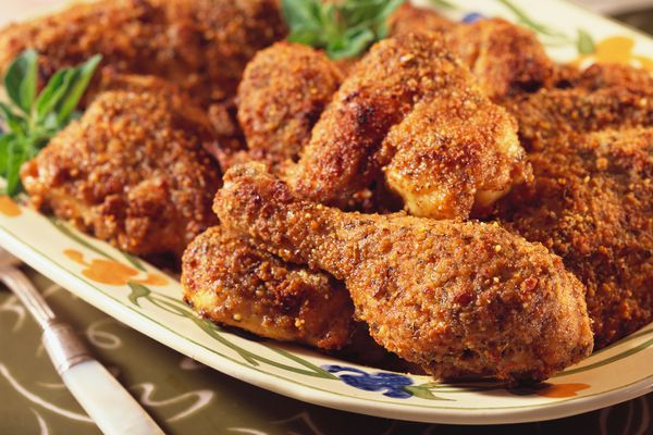 Make Easy Oven Fried Chicken Drumsticks With Just A Few Ingredients Recipe Drumstick Recipes Fries In The Oven Chicken Drumstick Recipes