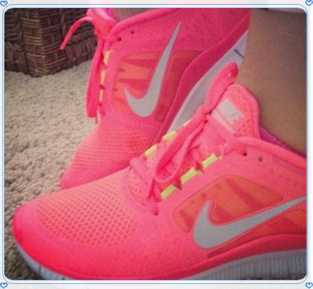 5df04fbee735 Limited sales - Nike Free Run 3 For Women Shoe Coral. hot punch nikes
