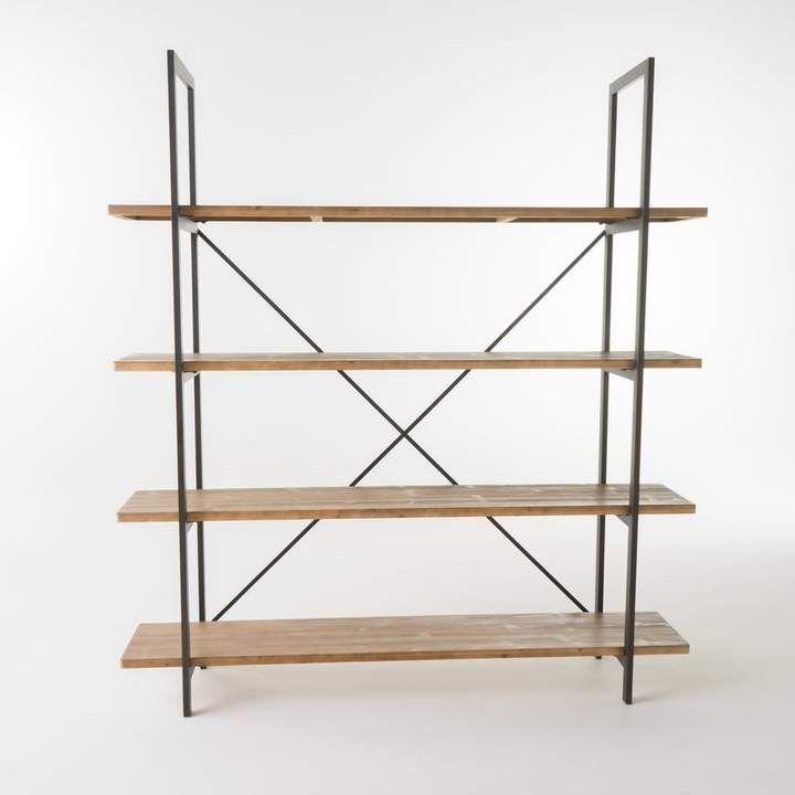 Union Rustic Caitlyn Etagere Bookcase Etagere Bookcase Bookcase
