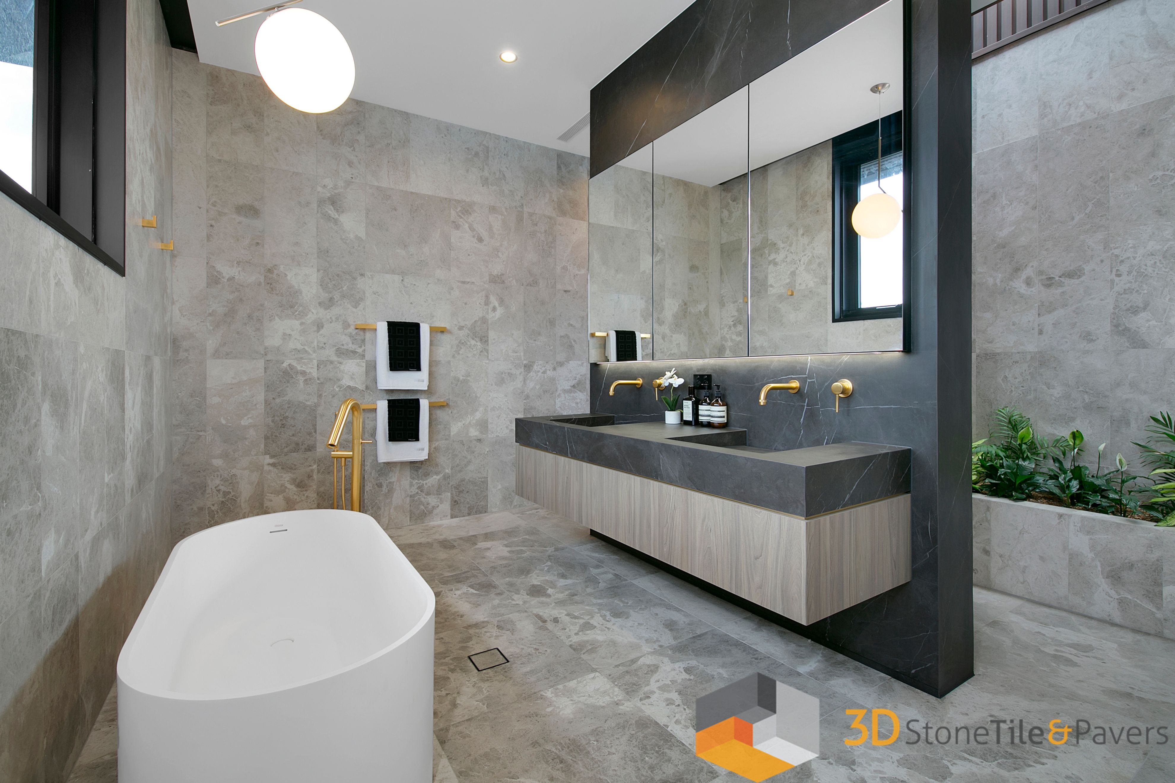 Stunning new bathroom build in Brisbane Penthouse ...