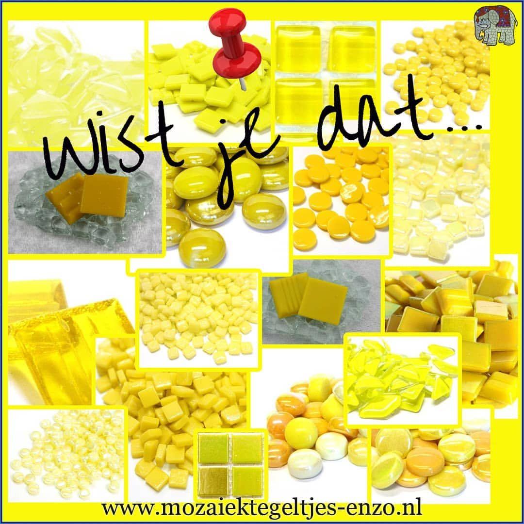 geel staat voor