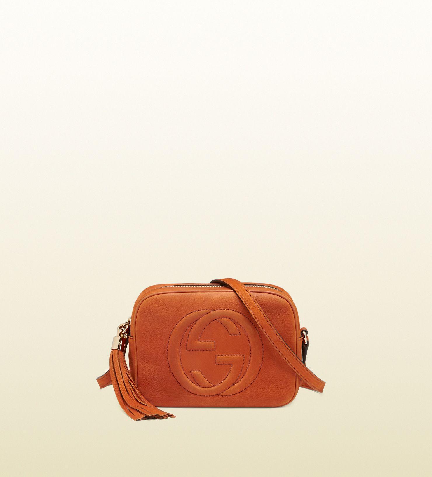 0e53404c39be soho nubuck leather disco bag