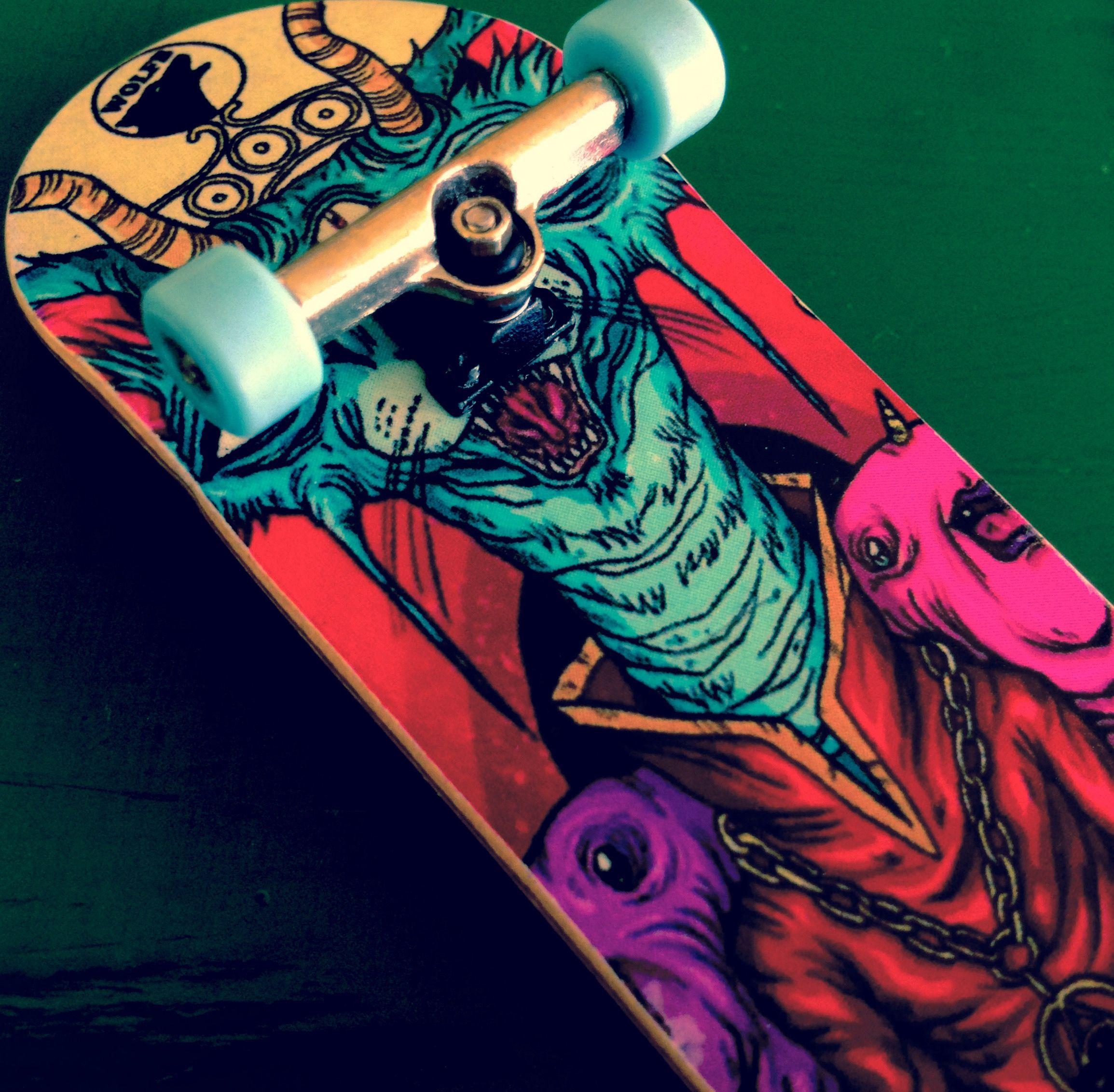 Fingerboard Tech deck, Skateboard, Anime