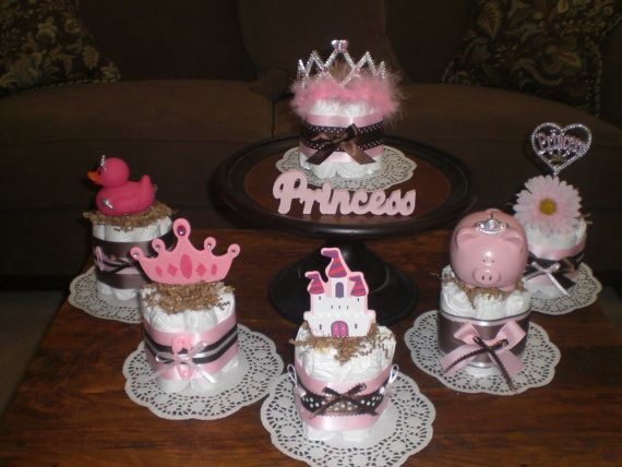 cakes too shower centerpieces princess baby showers and cakes
