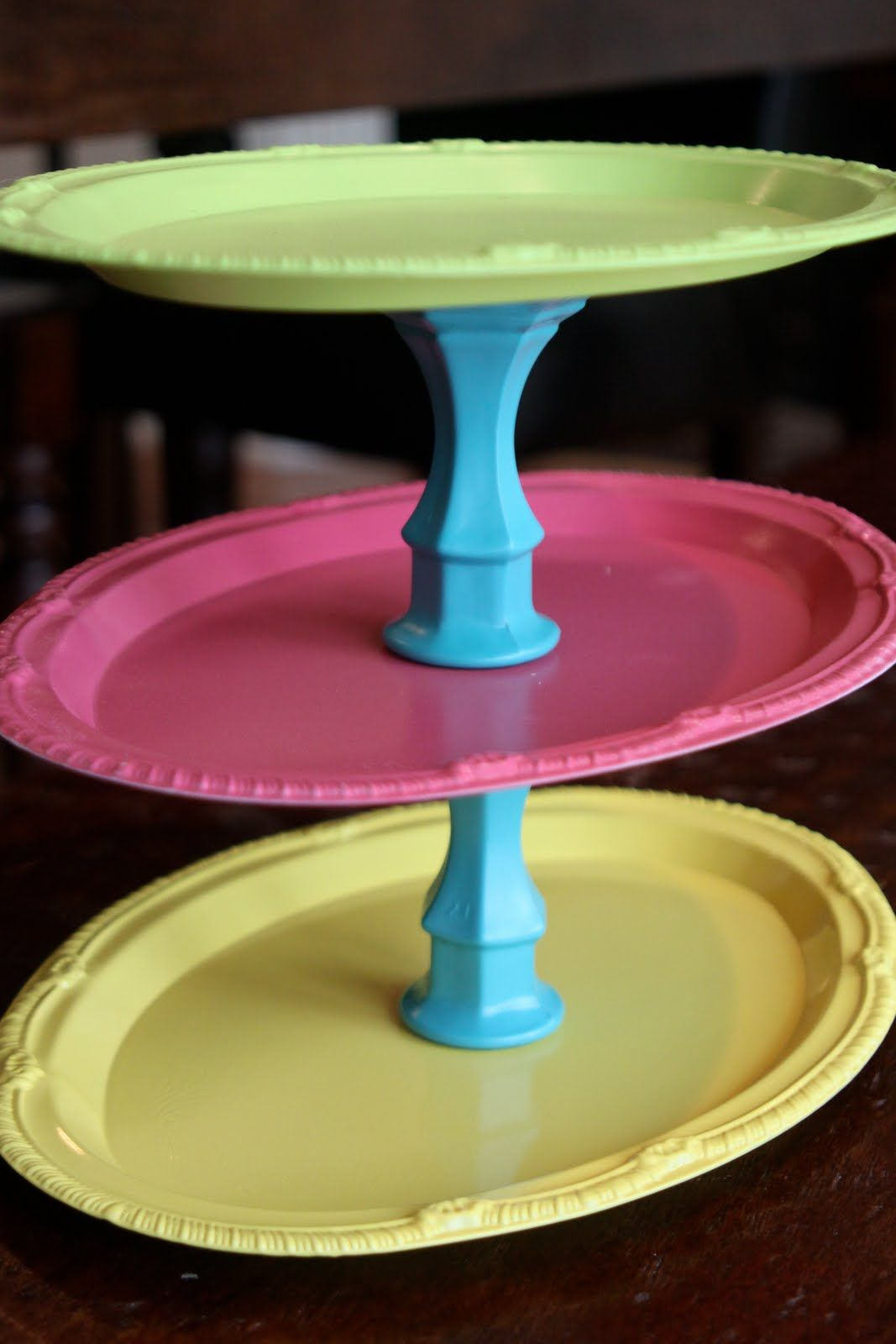 Joyus hope a carnival of tiered trays decor diy pinterest