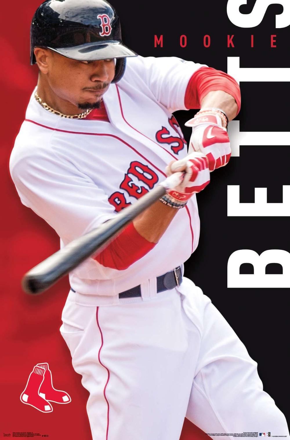 Mlb Boston Red Sox Mookie Betts Red Sox Nation Boston Red Sox Red Sox Baseball