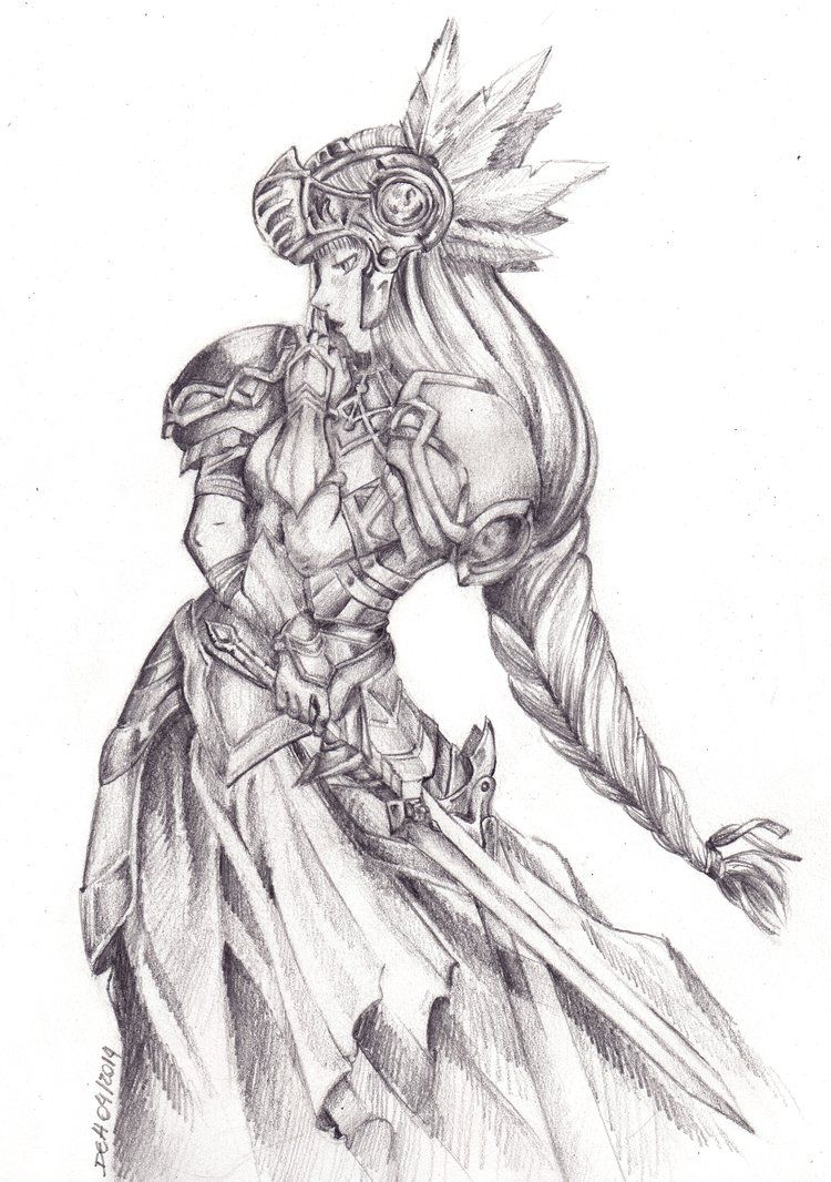 Valkyrie Profile Lenneth By Debstradart Deuses Mitologicos