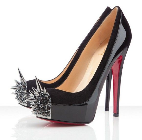 Killer shoes -- Christian Louboutin Asteroid Spike-toe Pumps Click the pin  for more!
