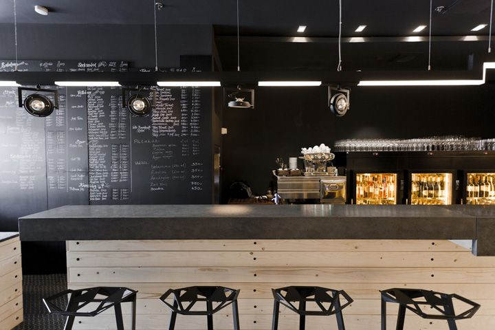 divino wine bar by suto interior architects budapest cafe pinterest