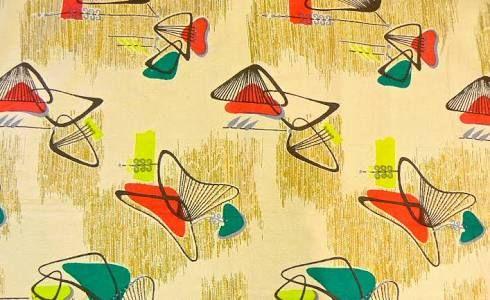 bark cloth designs of 1950's - Google Search