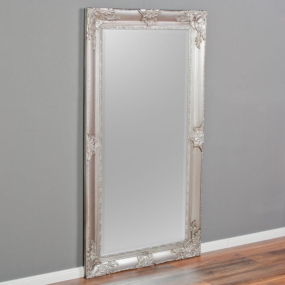 Spiegel Marlon Xl Antik Silber 180x100cm Barock Spiegel Spiegel