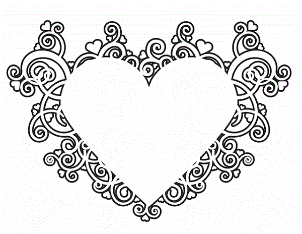 Coloring Pages With A Heart Malvorlagen Blumen Malvorlagen Zum Ausdrucken Malvorlagen Fur Kinder