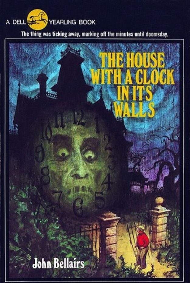 The House With A Clock In Its Walls By John Bellairs Horror Book Covers Childhood Books Scary Books