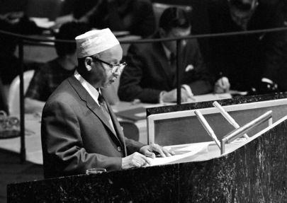 Hagi Farah Omar - Envoy to the US and United Nations
