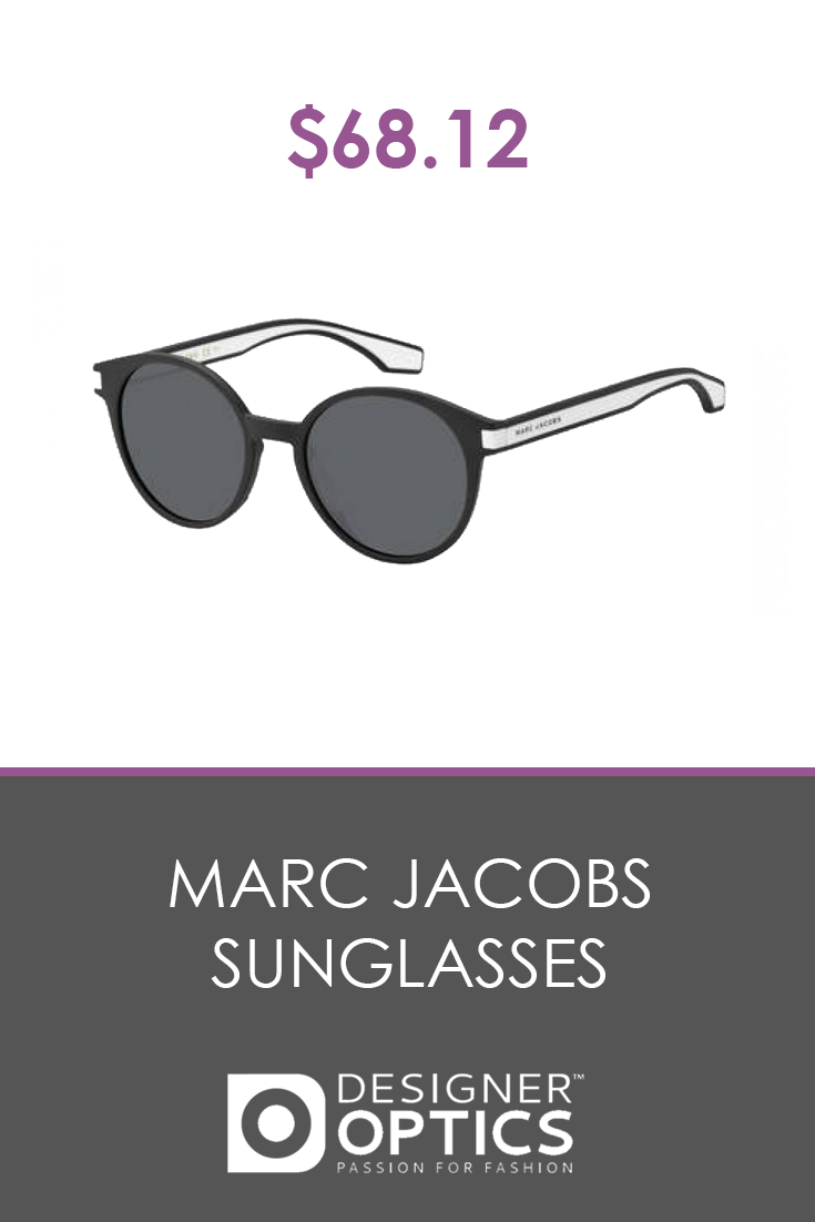 4fdeb2fd3558 $68.12 Mod and round, the perfect specs to give you a contemporary edge.  Look the part of the fearless modern woman today with a pair of Marc Jacobs.