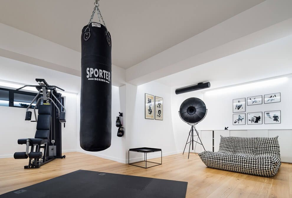 Residential House in Sofia Home Gym Ideas. The easy way to buy or ...