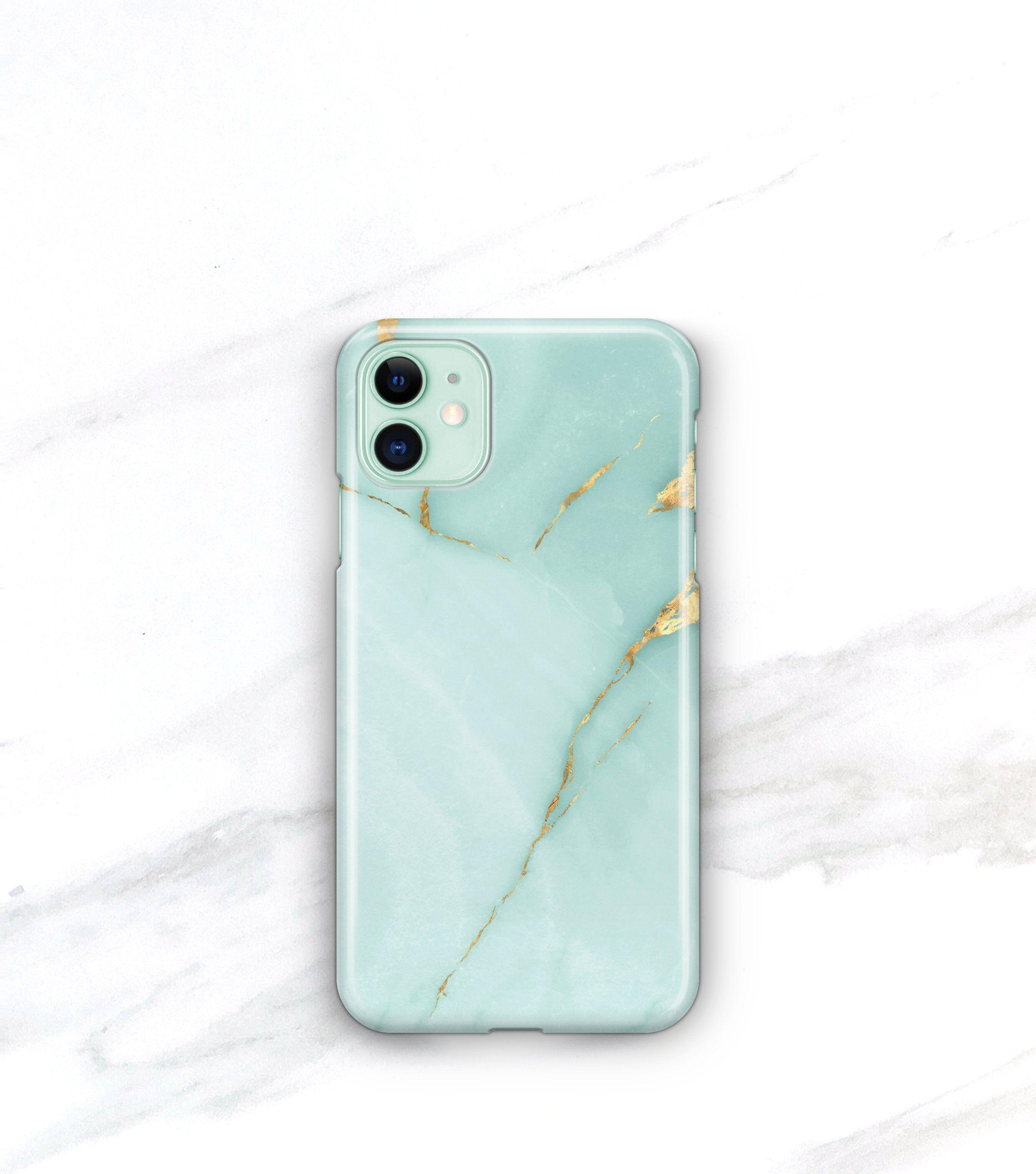 Aqua Marble Case iPhone 11 Marble iphone case, Iphone