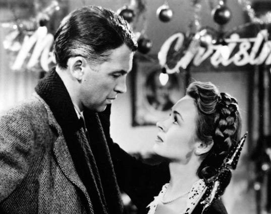 "It's a wonderful life -- ""What is it you want, Mary? What do you want? You want the moon? Just say the word and I'll throw a lasso around it and pull it down. Hey. That's a pretty good idea. I'll give you the moon, Mary."""