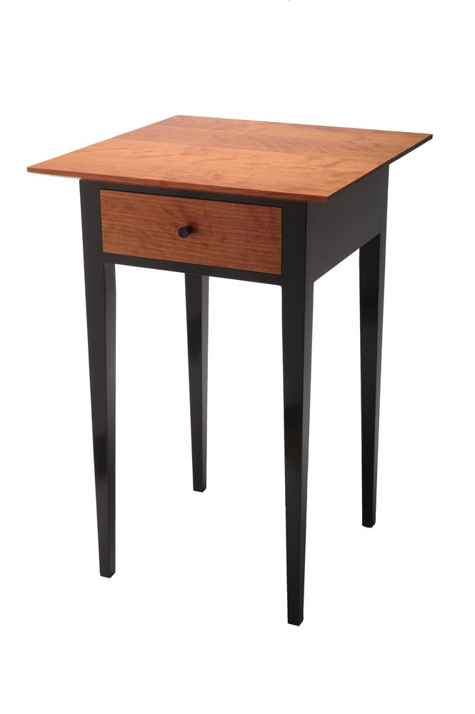 Shaker Night Stand Reader S Gallery Fine Woodworking Shaker Style Furniture Diy Home Furniture Shaker Furniture