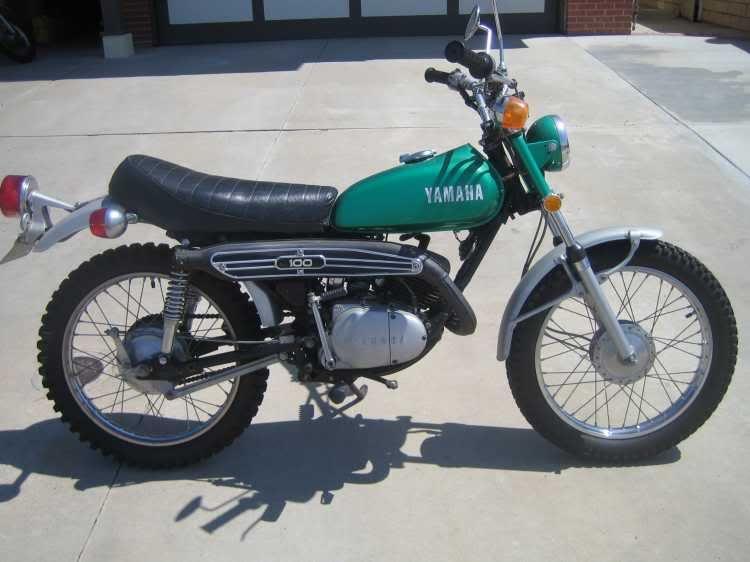 1972 Yamaha 100 Lt2 Classic Motorcycles Enduro Motorcycle Classic Bikes