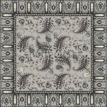 bandana design template des textures conception de bandana